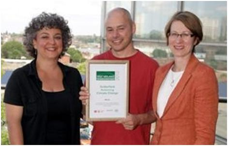 Winner of Low Carbon Communities Award